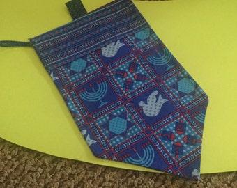 15 inch dreidel for Hanukkah #6, holiday bag,dove, menorah, star of David