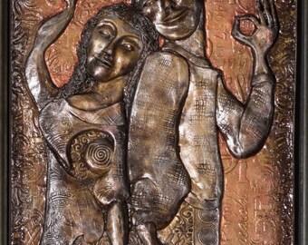 This Dance We Do: Bronze Narrative Sculpture