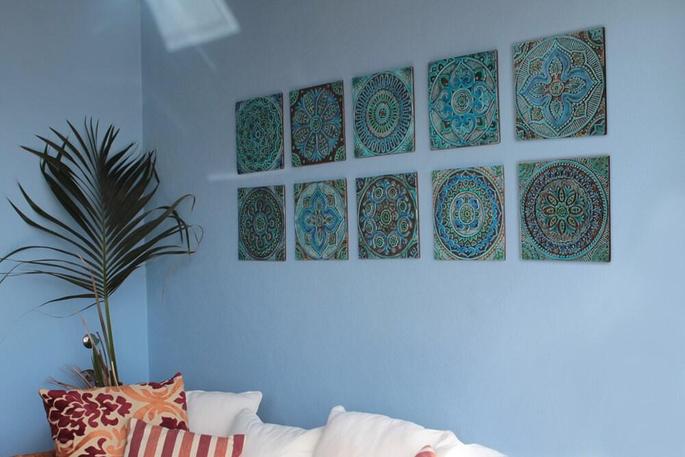 Https Www Etsy Com Listing 263782599 Ceramic Tiles Decorative Tiles Kitchen