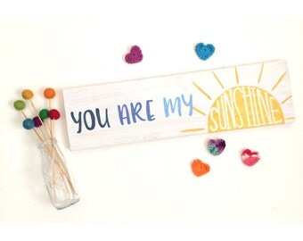 You Are My Sunshine Sign, Wood Quote Sign, Music Lyric Sign, Wood Sign, Funky Wood Sign, Wood Sign Decor