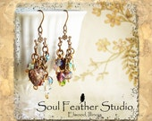 001•CHARMED Series Earrings•Kitchen Sink Earrings•Boho Earrings•Dangle Earrings