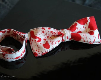 Hanky Bow Tie, adjustable - pre-tied