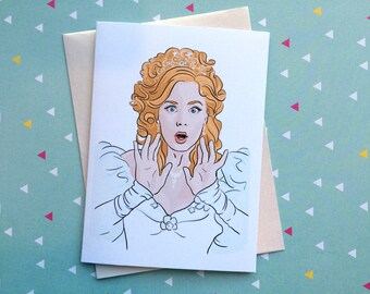 Surprised Giselle card