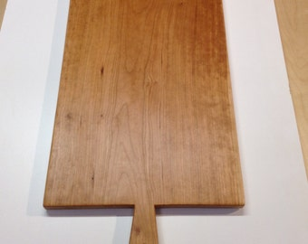Large Wooden Cutting Board, extremely huge presentation platter made from Cherry, wedding present, housewarming gift