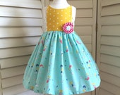 RESERVED LISTING -- Applewood Dress -- Size 12 - 18 months