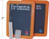 Personalized Chalkboard with Chalk and Eraser 1 FREE for EVERY 5 PURCHASED / Personalized Party Favor / Kid's Party Favors / Blackboard