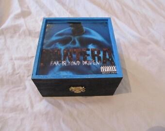 Pantera Far Beyond Driven Stash Keepsake Box