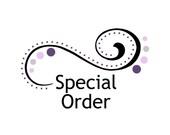 Special order for Nancy S
