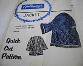Bath Towel Jacket Pattern