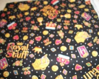 Royal Stuff Print Fabric Yardage