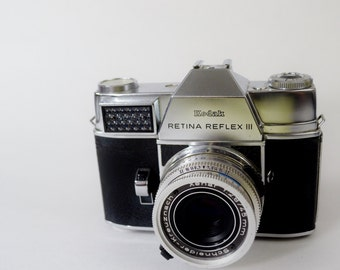 Wow Vintage 1950's Kodak Retina Feflex III Camera