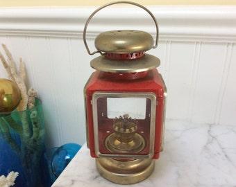 Vintage Red Lantern Made in Hong Kong