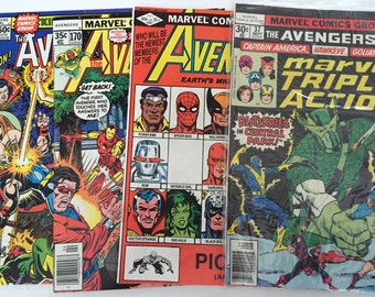 Avengers 181, 221, 170 and Annual 8 reserved