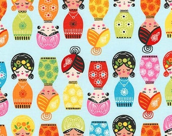 Little Senoritas in Fiesta, Suzy Ultman, Robert Kaufman Fabrics, 100% Cotton Fabric, ASD-16535-194 FIESTA