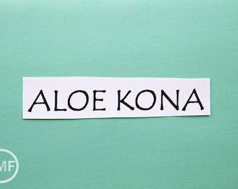 One Yard Aloe Kona Cotton Solid Fabric from Robert Kaufman, K001-197