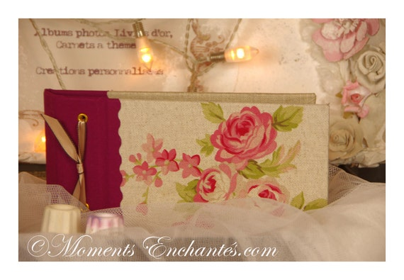 Saint Valentin Notebook to put everything receipts ideas poem  in your hand bag purse