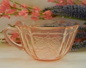 MAYFAIR, (4) Pink Depression Cups