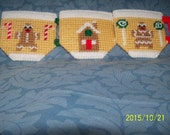 Holiday Gingerbread House /  Boy /Girl Set