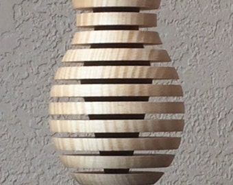"Double Vision ""Breathe"" vase"