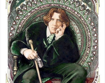 "Wilde - Archival Giclee Print - Limited Edition - 11.5"" x 16"""