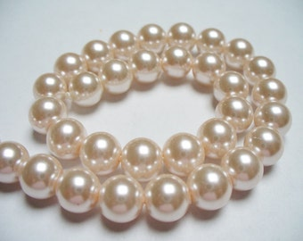 Glass Pearl Blush 8MM
