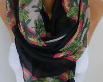 DRAGONFLY Print Cotton Scarf Shawl Summer Cowl Oversized Wrap Gift Ideas For Her Women Fashion Accessories Mother Day Gift Scarves