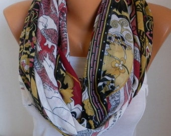 Floral Cotton Scarf, Christmas Gift, Summer Scarf, Pareo,Cowl Scarf, Gift Ideas For Her Women Fashion Accessories