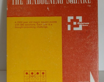 The Maddening Square by Peterson Games