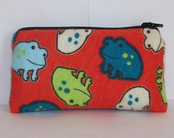 "Pipe Pouch, Hypno Toad, Pipe Bag, Pipe Case, Padded Pouch, Pipe Cozy, Small Pouch, Stoner Gift, Toad Pouch, 420, Animal Gift - 5.5"" SMALL"