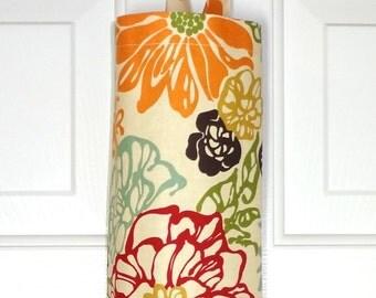Plastic Bag Holder Grocery Bag Holder Storage Kitchen Bag Storage Invigorate Floral Grocery Bag Organizer