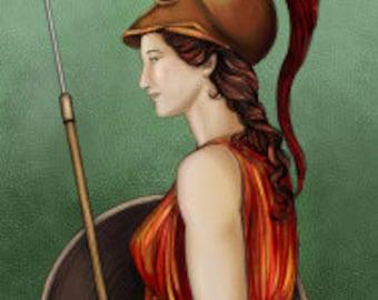 Minerva Prayer Card