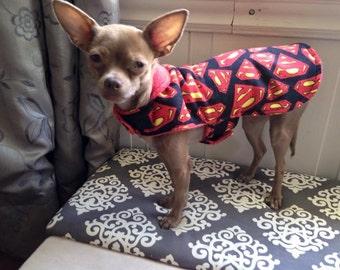 Superman Dog Jacket