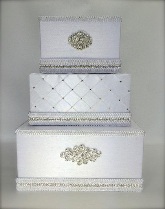 Wedding Card Holder Wedding Card Box Gift Card Box Secure Lock Wedding ...