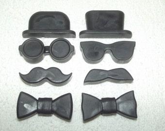 Gentleman's Soap Set, Men's Soap, Mustache Soap Set, Groomsmen Soap Set, Jacob's Desire Soap