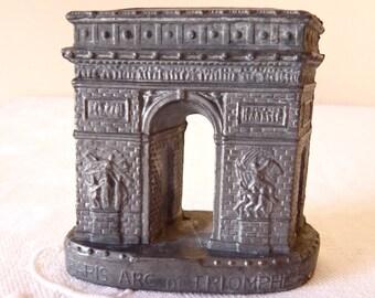 Souvenir French Antique The Arch of Triumph  - Paris France - French Souvenir - L'Arc de Triomphe