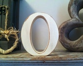 Hand-painted Wooden Letter, O - Freestanding - Victorian Font - Various sizes, finishes and colours - 30cm