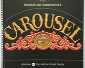 Carousel Recycled Record Album Cover Book