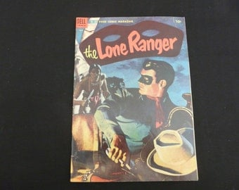 The Lone Ranger Comic Book, 1954