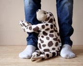 Big Freckled Sloth, stuffed animal toy for children