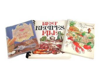 Blank Recipe Books Blank Cookbooks Recipe Card Binders Folder