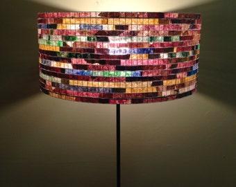 Floor Lamp Unique Colorful Lamp Lampshade Lampada Coffee Filter Art