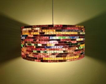 Lighting Chandelier Pendant Light Ceiling Hanging Lampada Coffee Filter Art