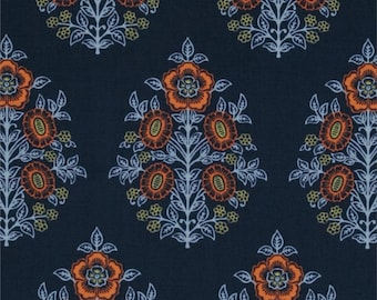 54028 - Joel Dewberry Botanique collection PWJD084  Provincial in Deepwater color - 1 yard