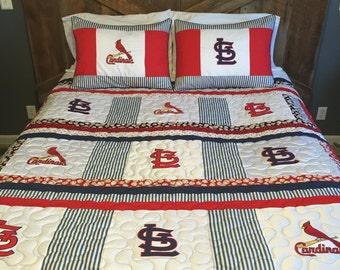 St. Louis Cardinals queen size quilt