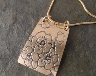 Kala Necklace ~ Cherry Blossom