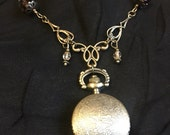 RESERVED FOR BRITTANY Steampunk Dragon Eye Pocket Watch