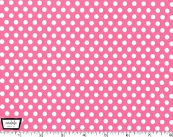 Kiss Dot - Blossom Pink from Michael Miller