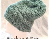 40% off Ready to Ship ~ Soft Alpaca Wool~ Crochet Slouch Hat Slouchy Hobo Winter Ski Hat Beanie ~ Seaside Blue Light Aqua ~ Christmas Gift