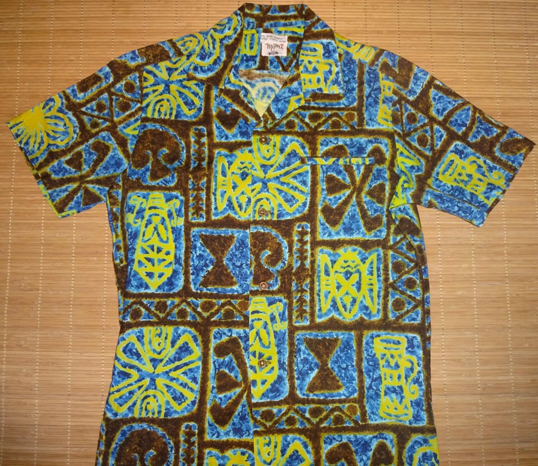 Mens vintage 60s momi 39 s hawaiian aloha shirt s the for The hawaiian shirt company