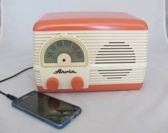 Arvin Radio 194  Restored and MP3 Ready